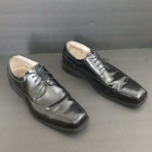 Florsheim Alverson Oxford Black Dress Shoes SZ 12